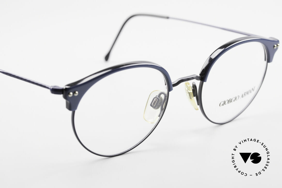 Giorgio Armani 377 90's Panto Style Eyeglasses, NO RETRO glasses, but a unique 25 years old Original, Made for Men and Women