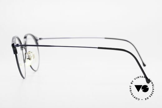 Giorgio Armani 377 90's Panto Style Eyeglasses, DEMO lenses can be replaced with any kind of lenses, Made for Men and Women