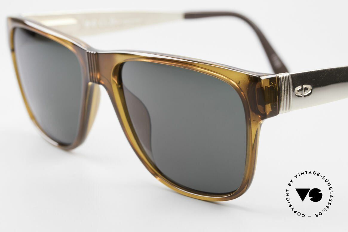 Christian Dior 2406 Vintage Dior Monsieur Series, one of the first models with flexible spring hinges, ever, Made for Men