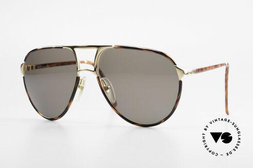 Christian Dior 2505 Aviator Designer Sunglasses Details