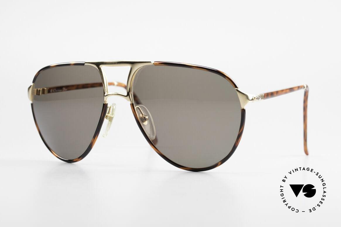 Christian Dior 2505 Aviator Designer Sunglasses, famous Christian Dior sunglasses from 1988/89, Made for Men