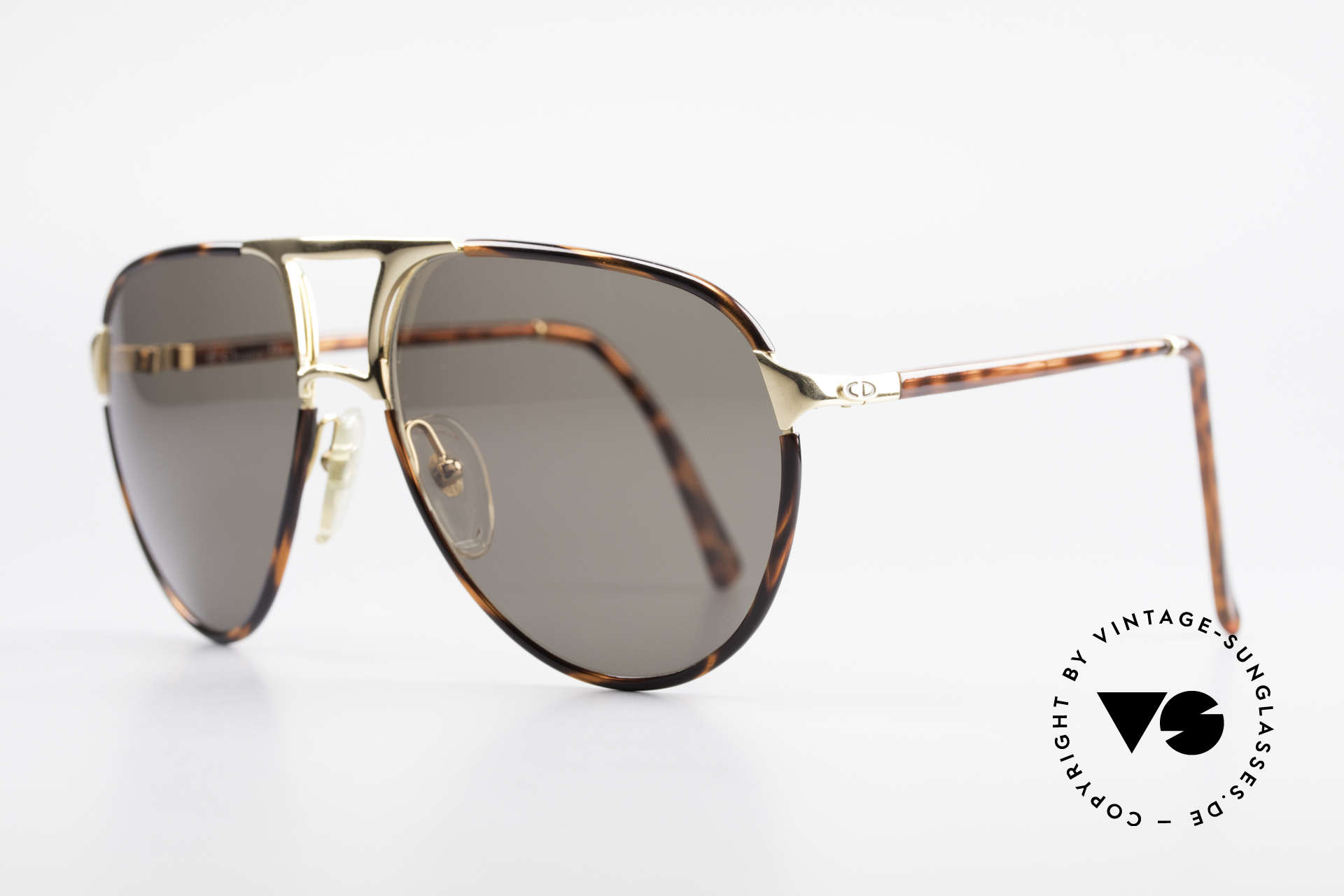 Christian Dior 2505 Aviator Designer Sunglasses, Top quality (gold-plated metal & 100% UV prot.), Made for Men
