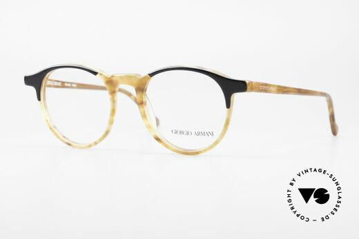 Giorgio Armani 301 Johnny Depp Style Panto Frame Details