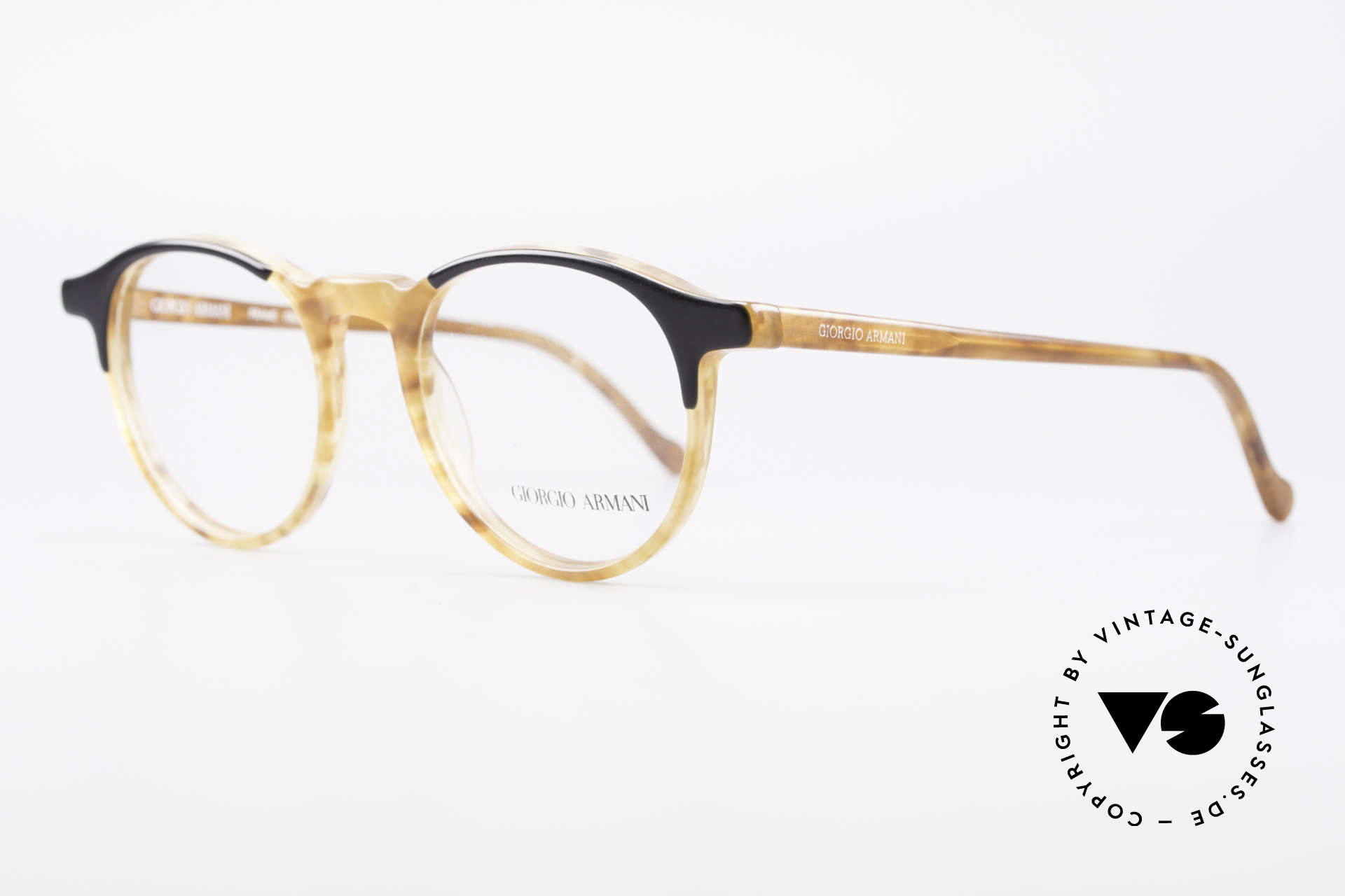 Giorgio Armani 301 Johnny Depp Style Panto Frame, inspired by the 'Tart Optical Arnel' frames of the 1960's, Made for Men