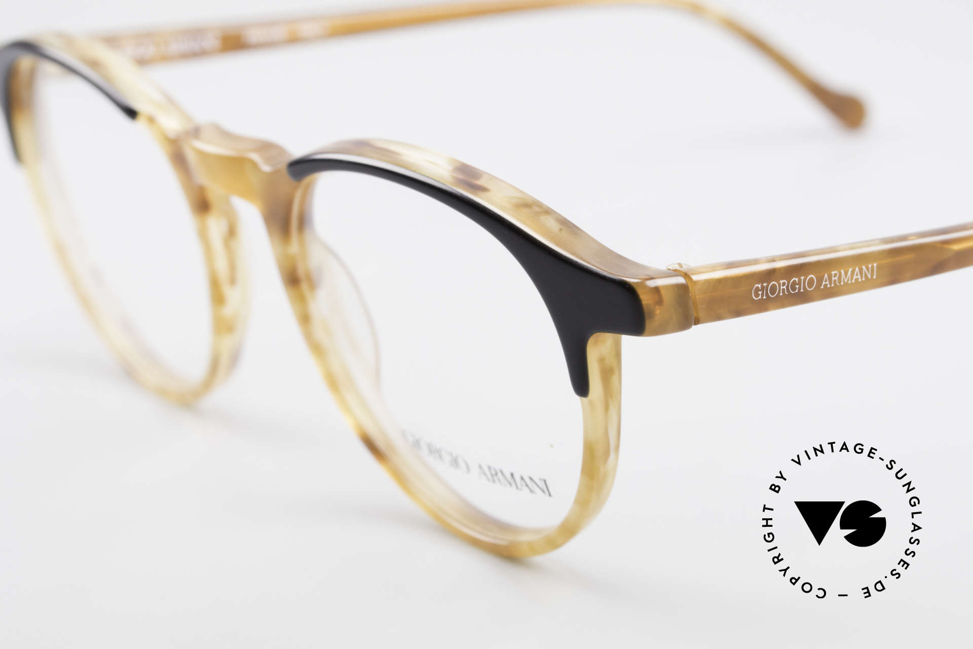 Giorgio Armani 301 Johnny Depp Style Panto Frame, actor Johnny Depp made this style popular, in these days, Made for Men