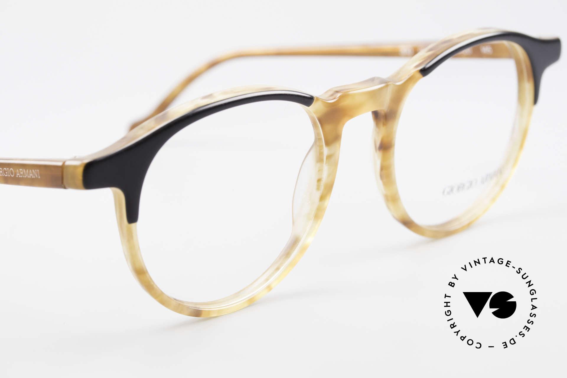 Giorgio Armani 301 Johnny Depp Style Panto Frame, never worn (like all our vintage Giorgio Armani glasses), Made for Men