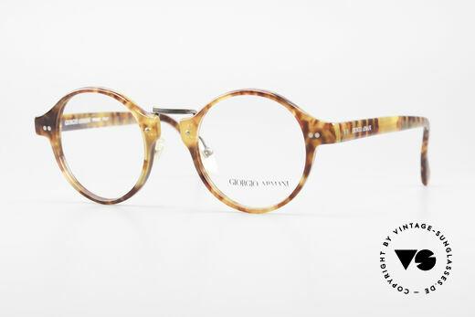 Giorgio Armani 341 Vintage Panto Eyeglass-Frame Details