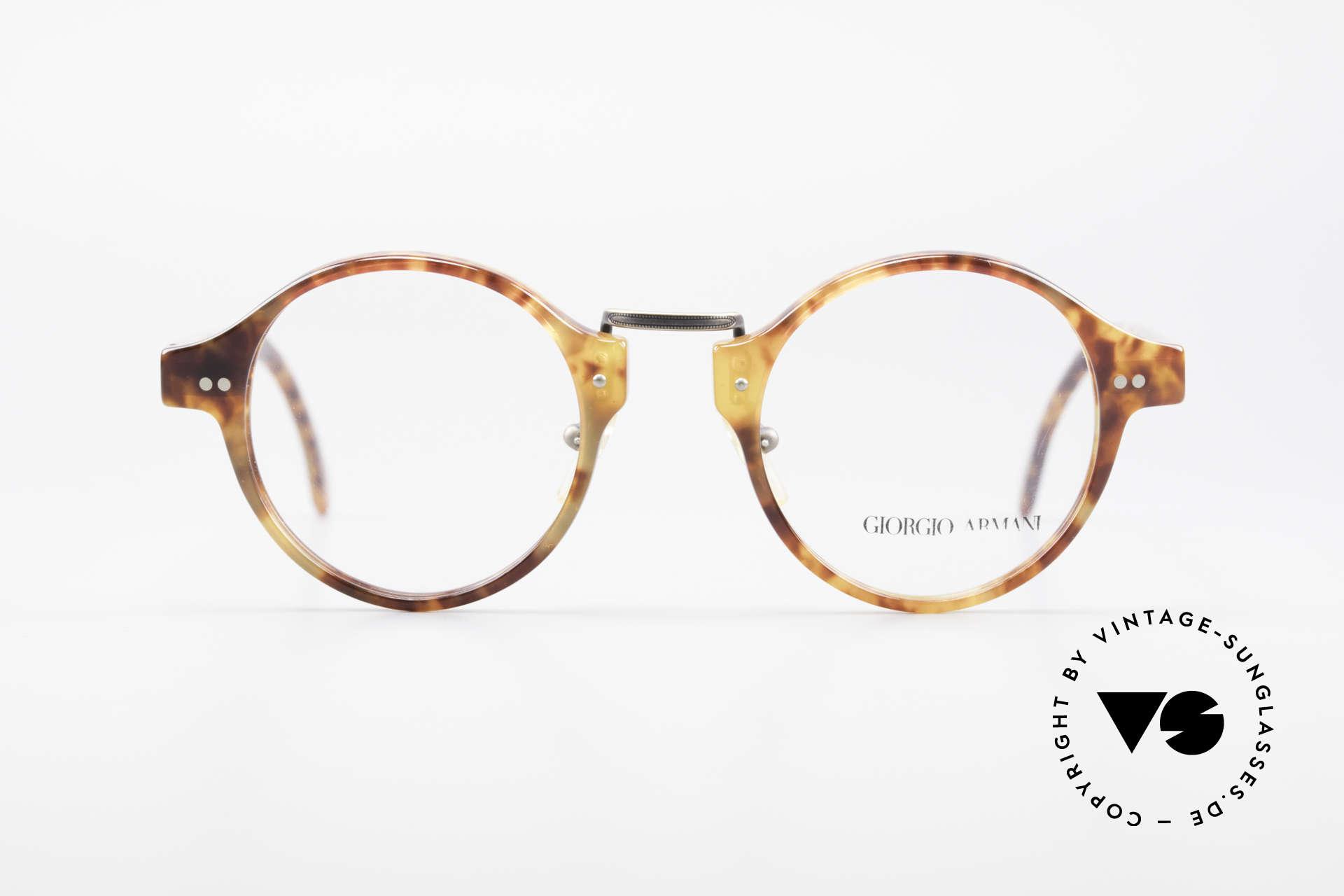 Giorgio Armani 341 Vintage Panto Eyeglass-Frame, legendary & world famous 'panto design' - a CLASSIC, Made for Men