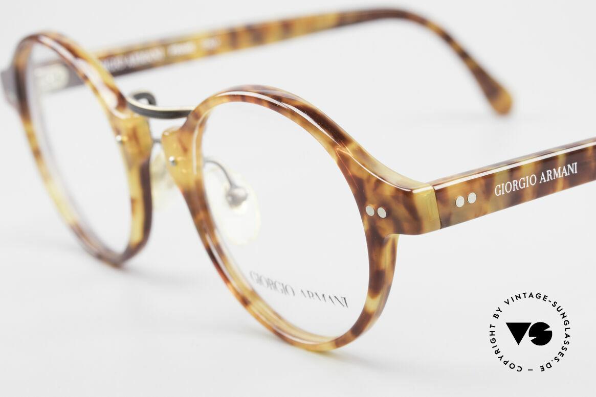 Giorgio Armani 341 Vintage Panto Eyeglass-Frame, a brilliant combination of quality, design and comfort, Made for Men