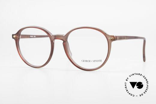 Giorgio Armani 325 Vintage Panto 90's Eyeglasses Details