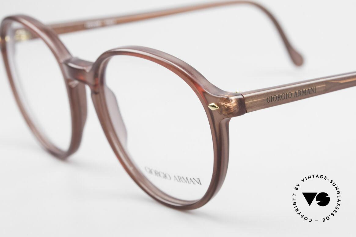 Giorgio Armani 325 Vintage Panto 90's Eyeglasses, never worn (like all our classic Giorgio Armani specs), Made for Men