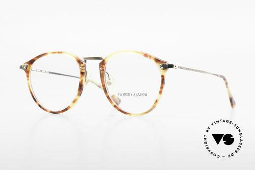 Giorgio Armani 318 Vintage 90's Panto Glasses Details