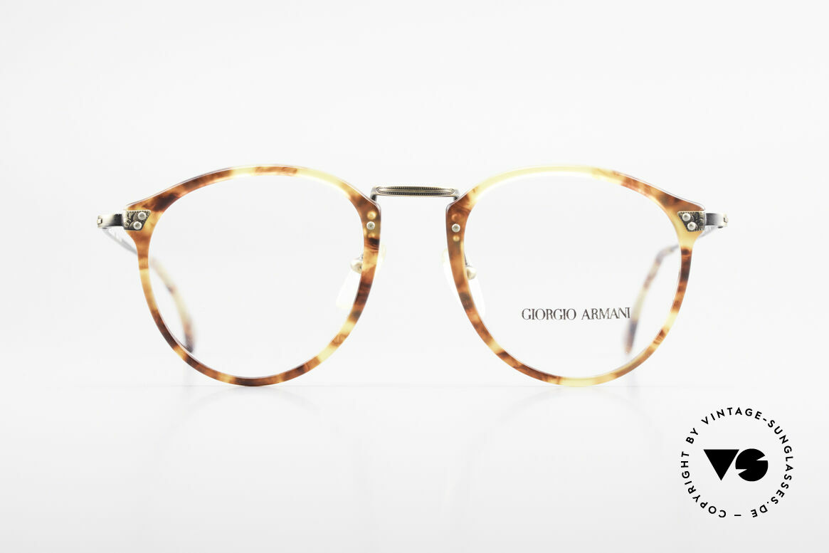 Giorgio Armani 318 Vintage 90's Panto Glasses, famous 'panto'-design; a true classic; simply stylish, Made for Men