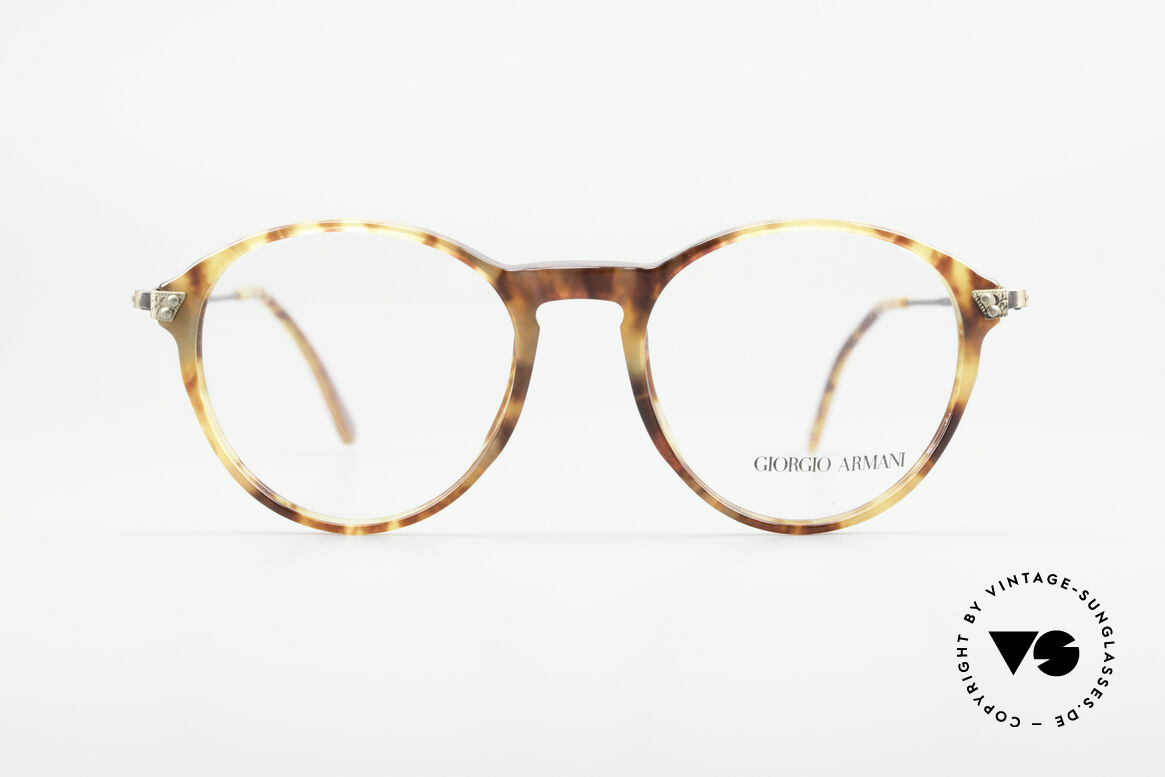 Giorgio Armani 329 Small 90's Panto Eyeglasses, famous 'panto'-design; a true classic; simply stylish, Made for Men