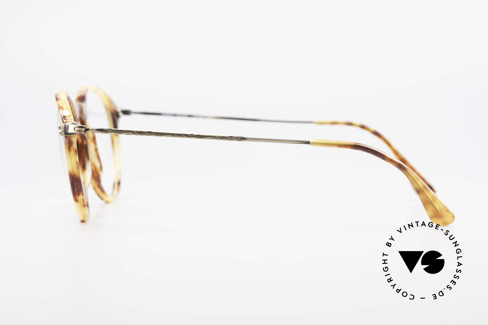 Giorgio Armani 329 Small 90's Panto Eyeglasses, NO retro specs, but a unique 25 years old ORIGINAL!, Made for Men