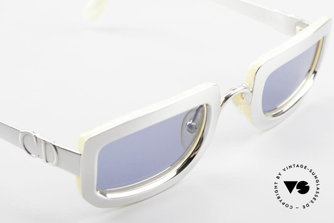 Christian Dior 2972 Designer Shades Silver Nacre, NO RETRO sunnies; but a precious OLD 90's ORIGINAL, Made for Women