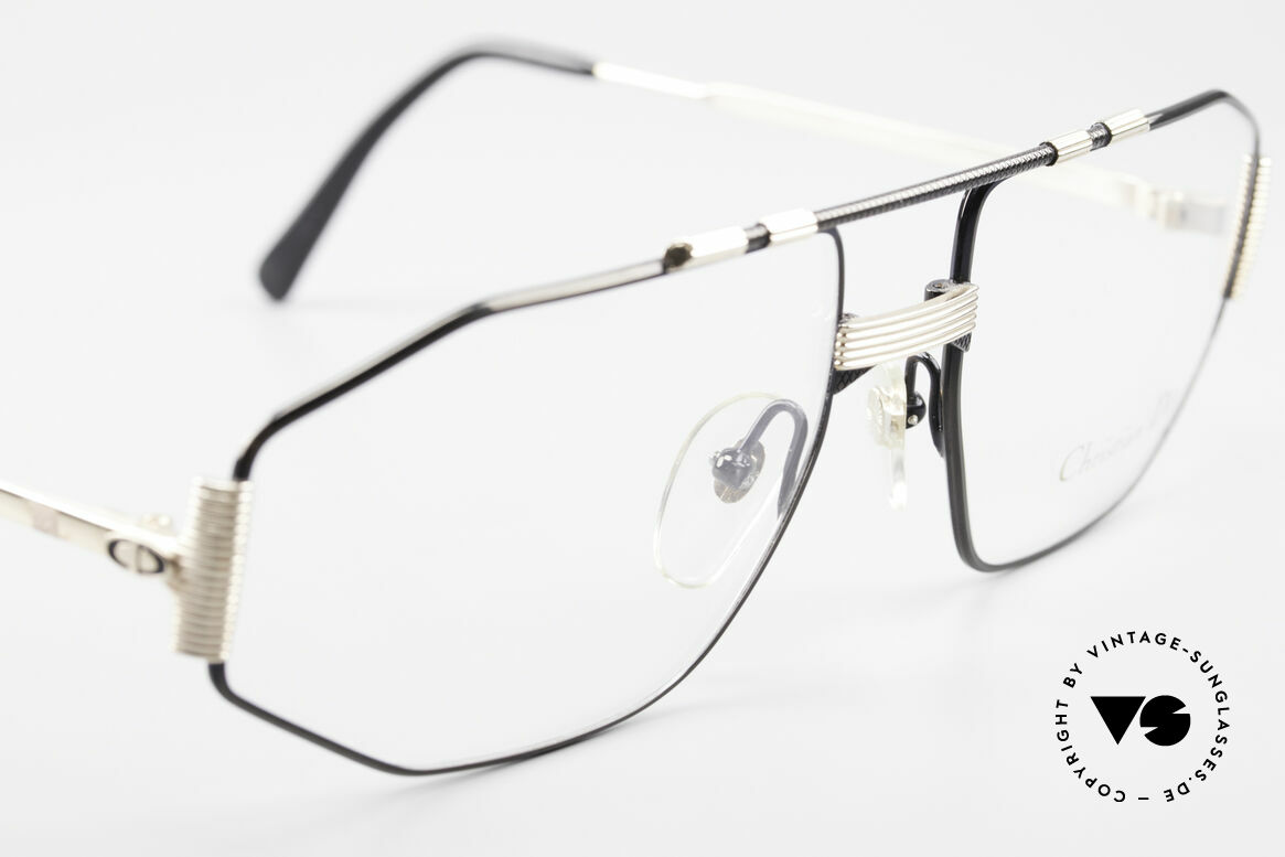 Christian Dior 2516 80's Gold Plated Vintage Frame, NO RETRO EYEGLASSES, but an old Dior ORIGINAL, Made for Men