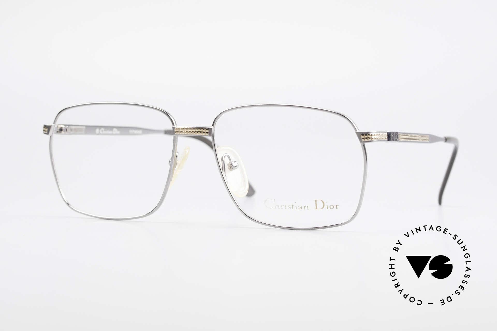 Christian Dior 2791 Titanium Eyeglass-Frame 90's, masculine designer glasses by Christian Dior from 1992, Made for Men