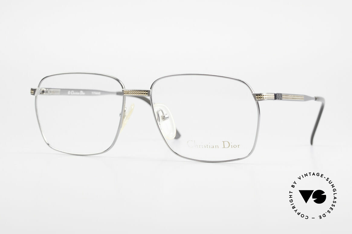 Christian Dior 2791 Titanium Eyeglass-Frame 90's, masculine designer glasses by Christian Dior from 1992, Made for Men