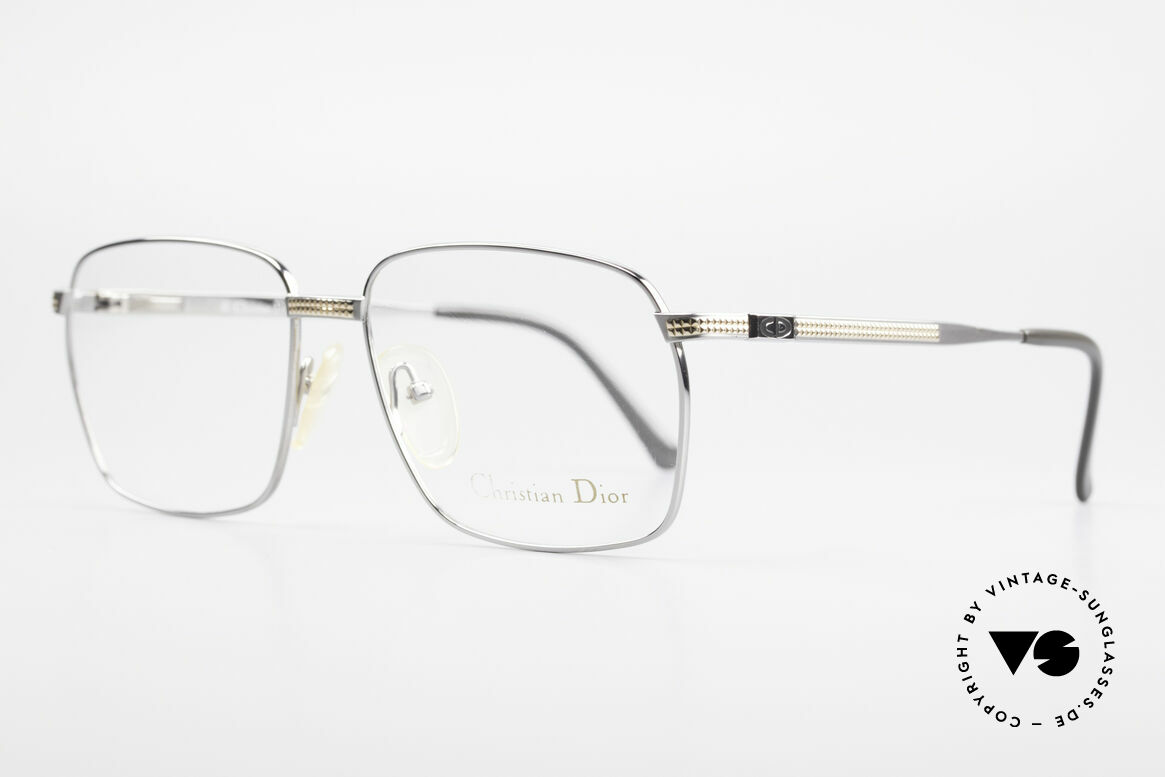 Christian Dior 2791 Titanium Eyeglass-Frame 90's, incredible top-quality (U must feel this!); spring hinges, Made for Men
