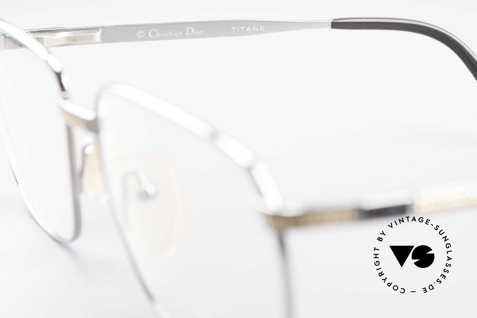Christian Dior 2791 Titanium Eyeglass-Frame 90's, NO RETRO eyeglasses, but a rare 25 years old original!, Made for Men