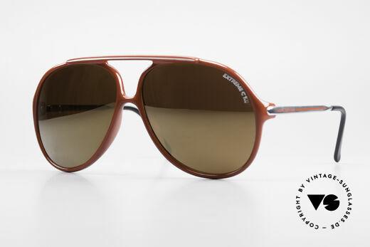 Carrera 5587 XXL Vintage 80's Sunglasses Details