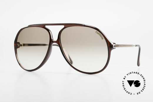 Carrera 5587 Vintage 80's XXL Sunglasses Details