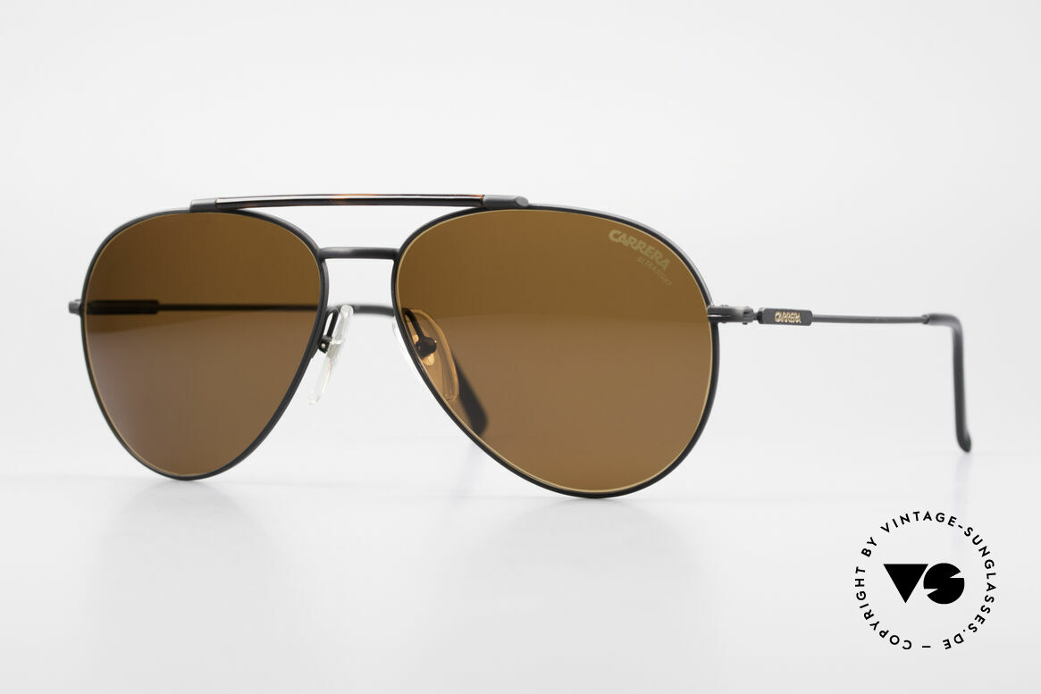 Carrera 5349 True Vintage Aviator Shades, classic vintage 80's designer sunglasses by Carrera, Made for Men