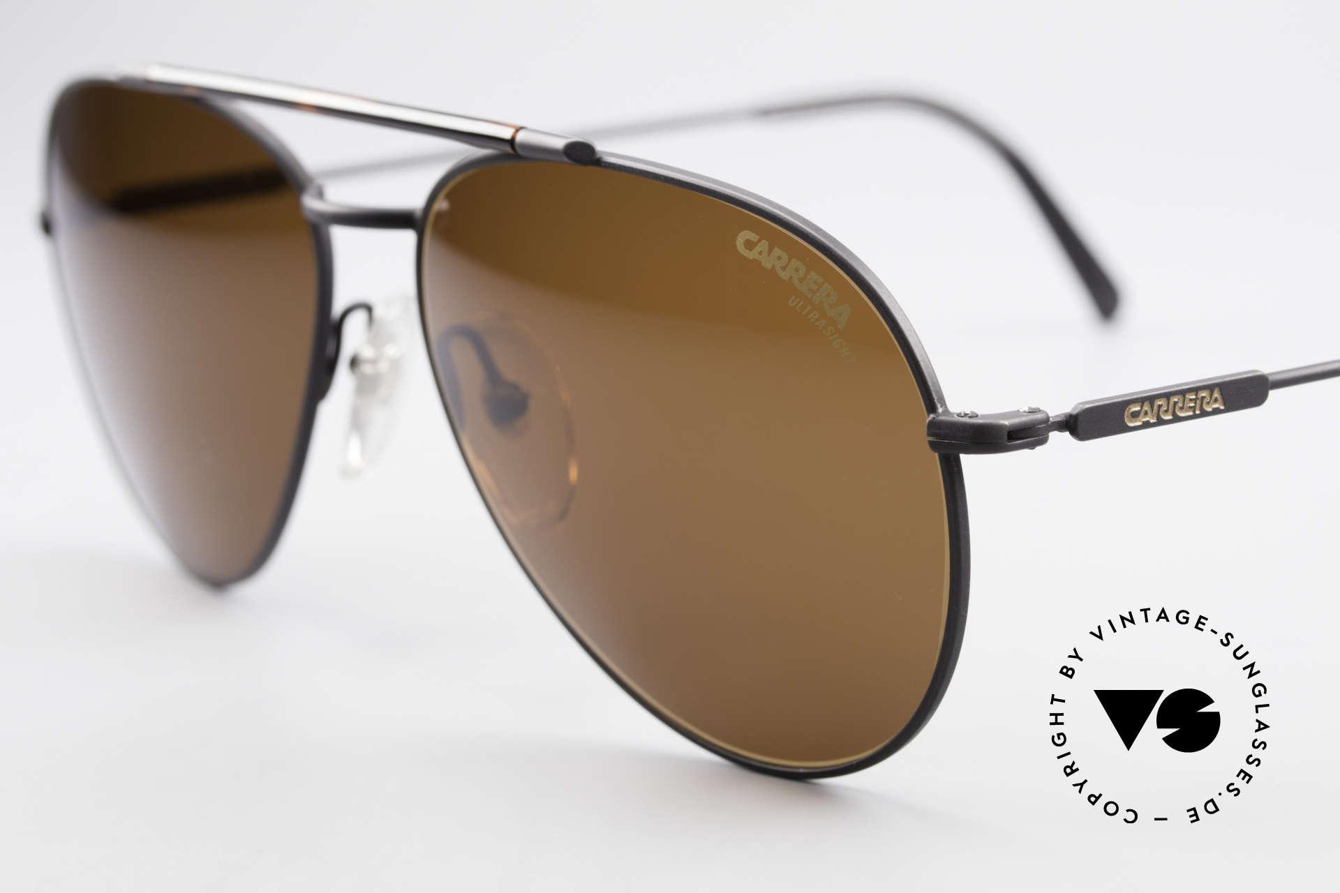 Carrera 5349 True Vintage Aviator Shades, Carrera UTRASIGHT lenses for 100% UV protection, Made for Men
