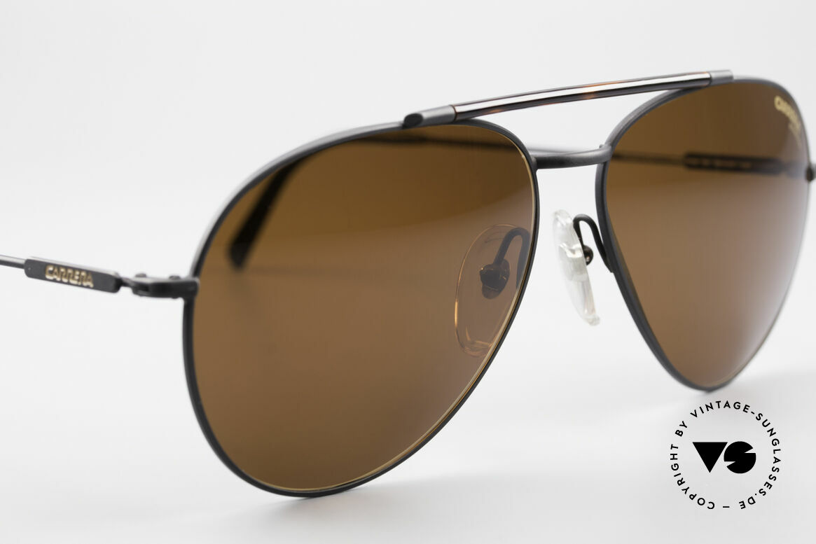 Carrera 5349 True Vintage Aviator Shades, never worn (like all our vintage Carrera sunglasses), Made for Men