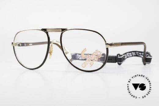 Carrera 5511 Sports Glasses 80's Vintage Details