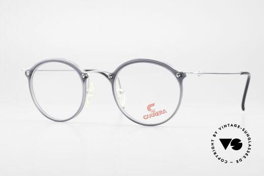 Carrera 4942 Round Panto Vintage Glasses Details