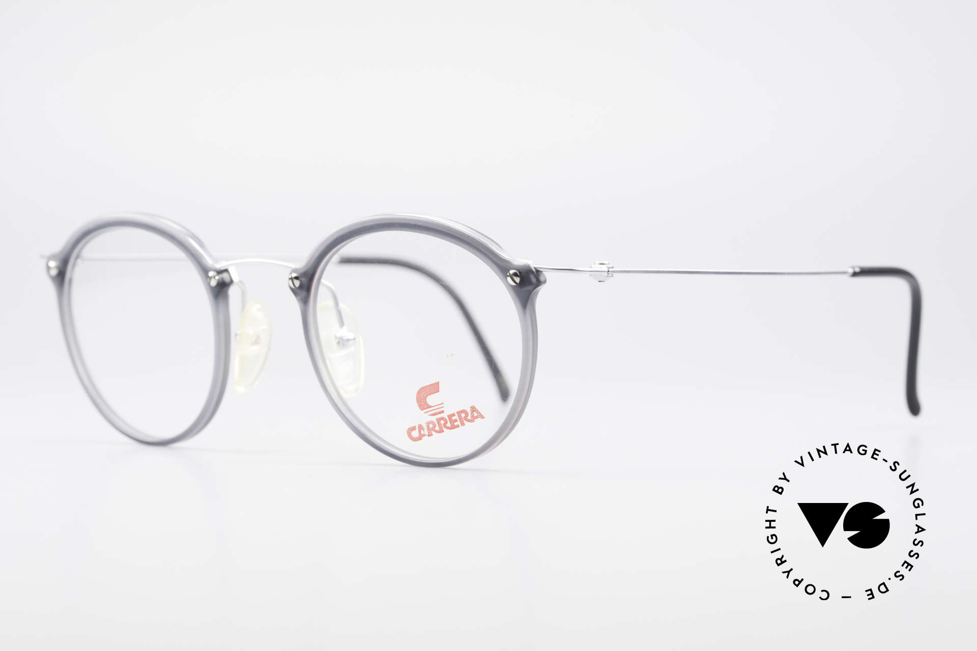 Carrera 4942 Round Panto Vintage Glasses, simply a timeless eyewear design; 1st class comfort, Made for Men and Women