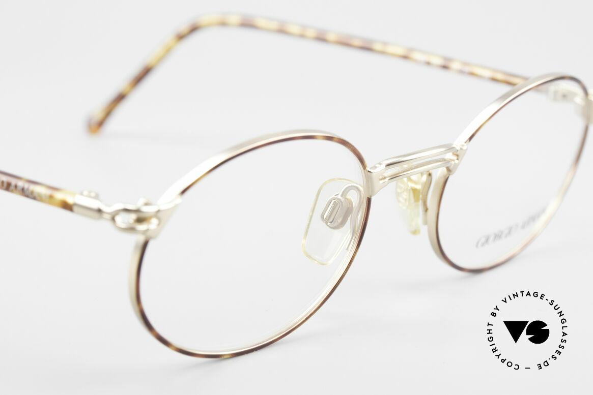 Giorgio Armani 194 Oval 90s Eyeglasses No Retro, NO RETRO SPECS, but an app. 25 years old Original, Made for Men and Women