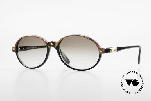Cazal 328 Oval Vintage Sunglasses 90's Details