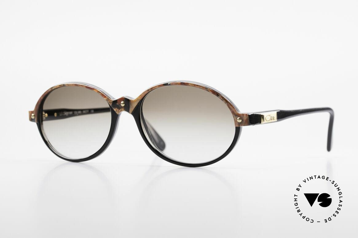 Cazal 328 Oval Vintage Sunglasses 90's, oval round Cazal vintage designer sunglasses, Made for Women