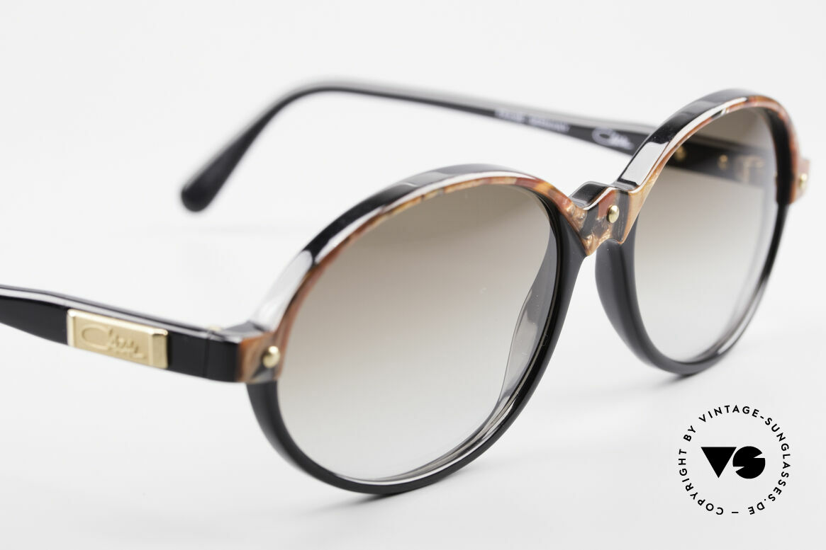 Cazal 328 Oval Vintage Sunglasses 90's, NO RETRO shades, but an old rarity from 1989, Made for Women