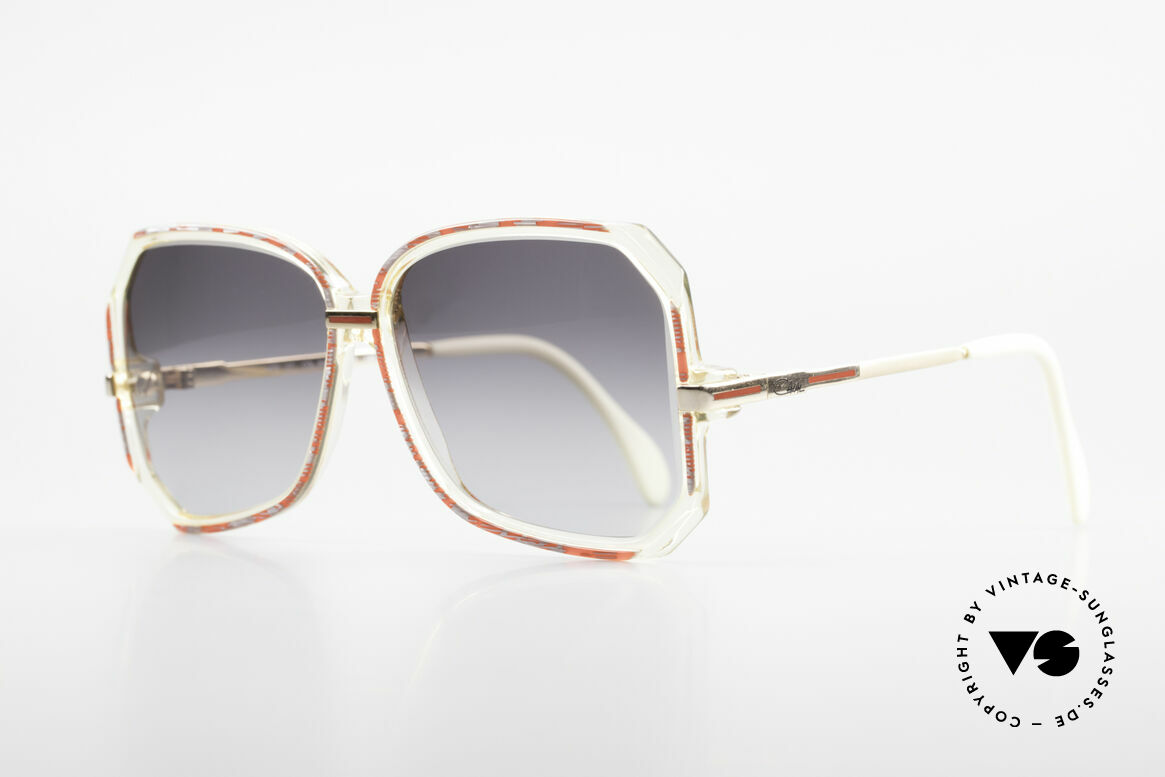 Cazal 167 West Germany 80's Shades, ingenious wearing properties and frame stability, Made for Women
