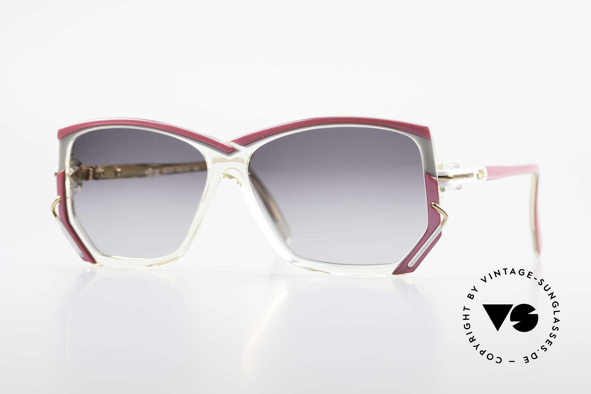 Cazal 197 80's Designer Sunglasses, original vintage CAZAL sunglasses from W.Germany, Made for Women