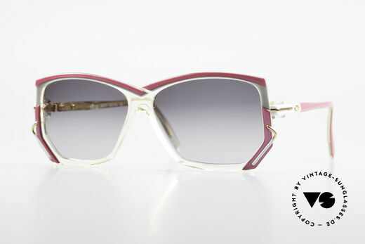 Cazal 197 80's Designer Sunglasses Details