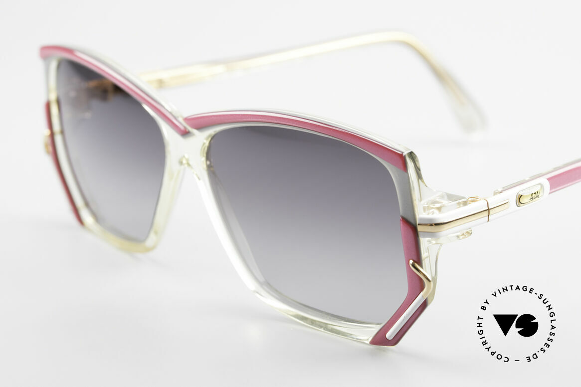 Cazal 197 80's Designer Sunglasses, new old stock (like all our vintage eyewear by Cazal), Made for Women