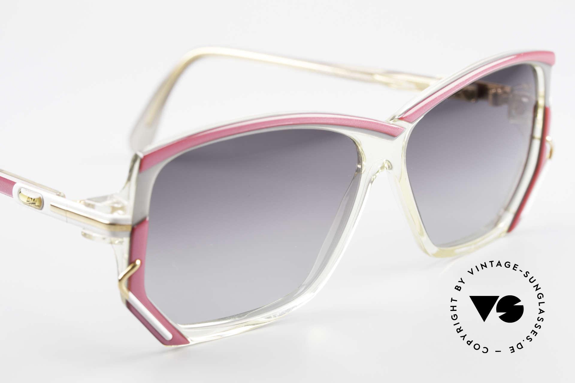 Cazal 197 80's Designer Sunglasses, NO RETRO SUNGLASSES, but an authentic 80's rarity, Made for Women