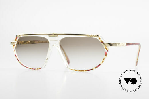 Cazal 344 Old School Crystal Sunglasses Details