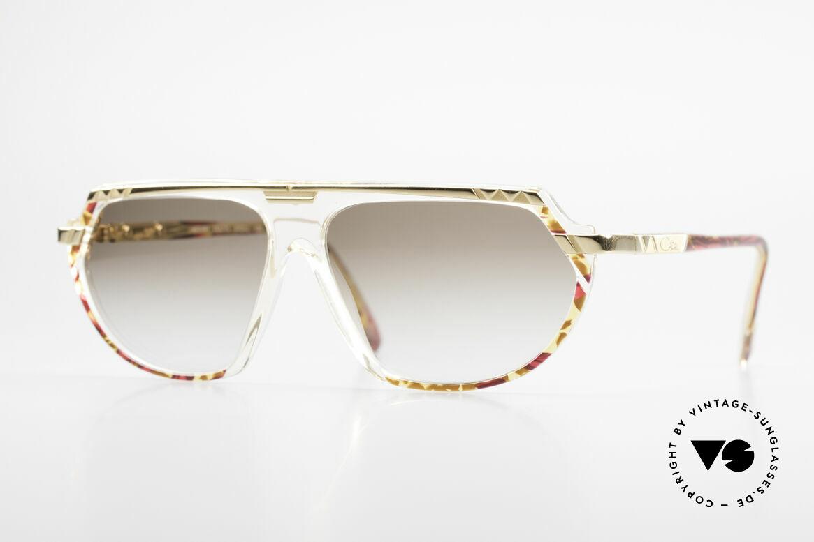 Cazal 344 Old School Crystal Sunglasses