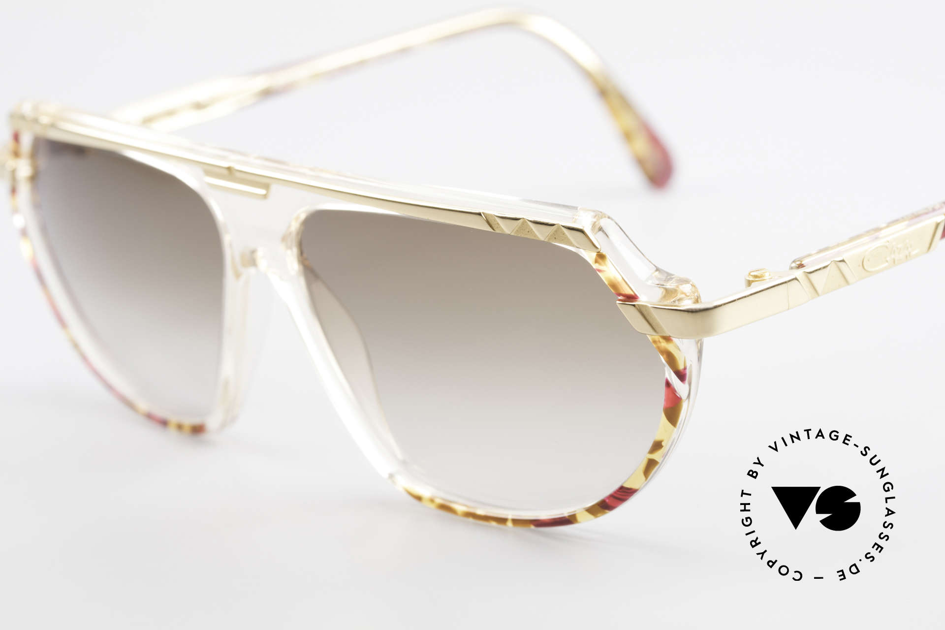 Cazal 344 Old School Crystal Sunglasses, the perfect accessory for every 90's Hip Hip outfit, Made for Women