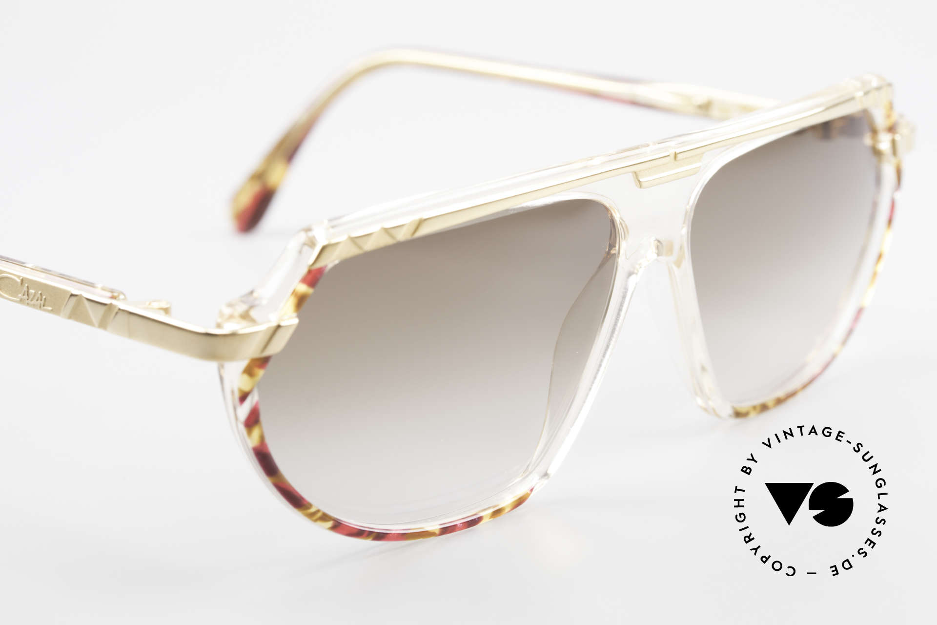Cazal 344 Old School Crystal Sunglasses, never worn (like all of our vintage designer shades), Made for Women