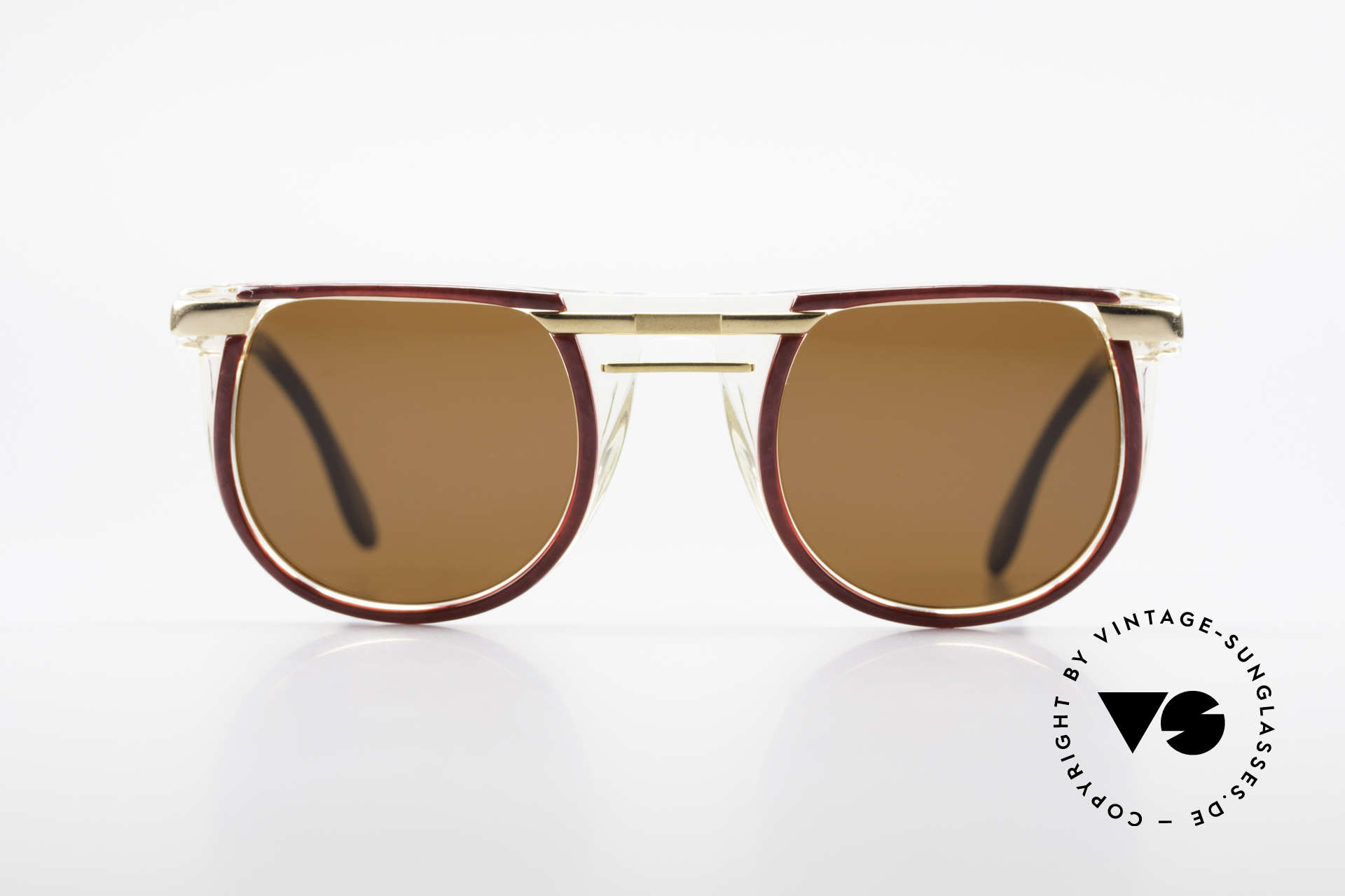 Cazal 647 90's Vintage Designer Shades, extraordinary model with terrific frame pattern, Made for Men and Women