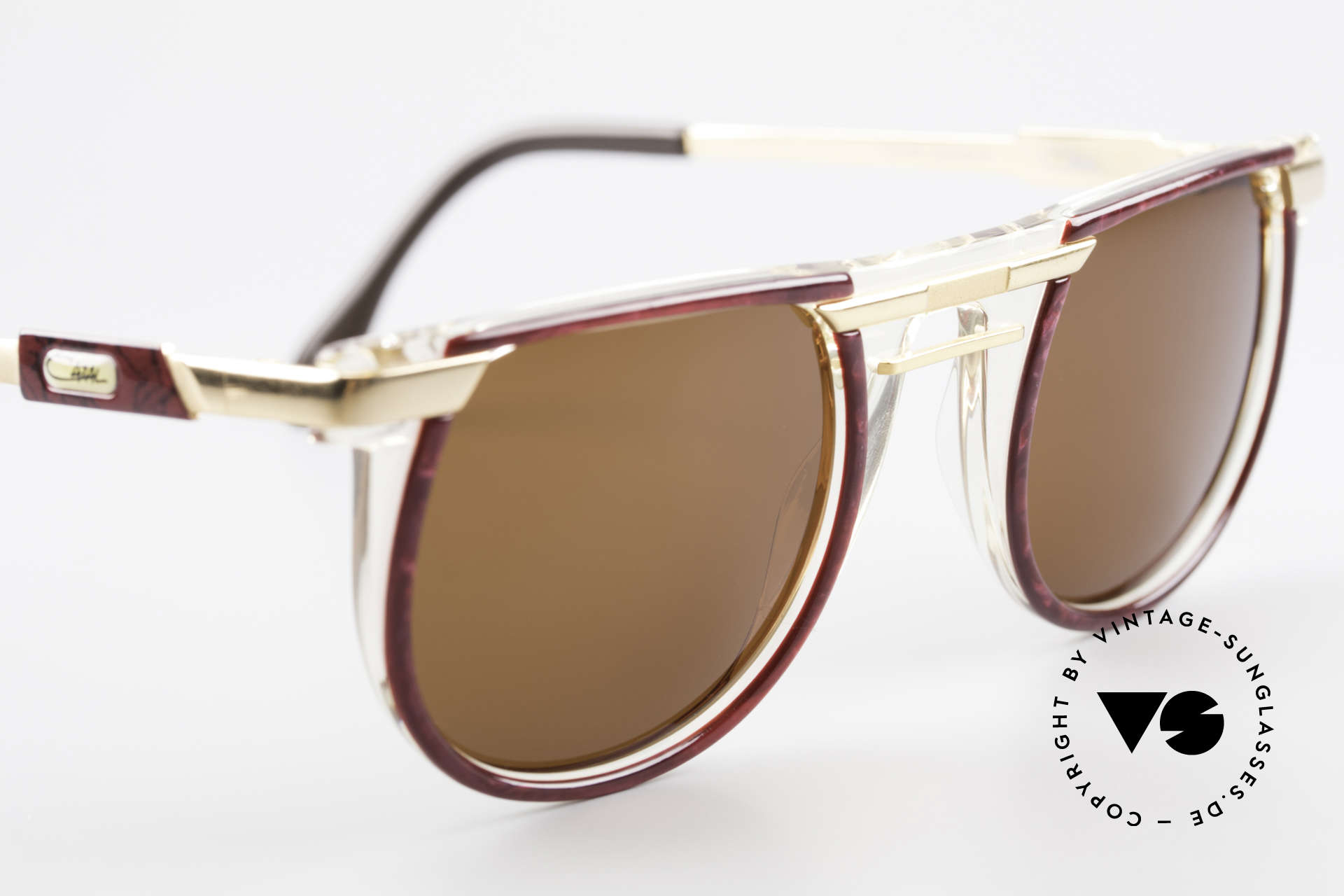 Cazal 647 90's Vintage Designer Shades, unworn, NOS (like all our vintage CAZAL eyewear), Made for Men and Women