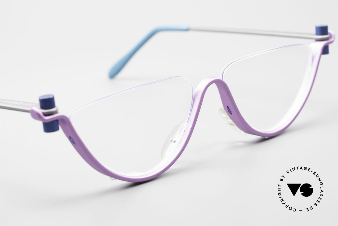 ProDesign No7 The Hunt For Red October, ultra RARE designer eyeglasses from the mid 1990's, Made for Women