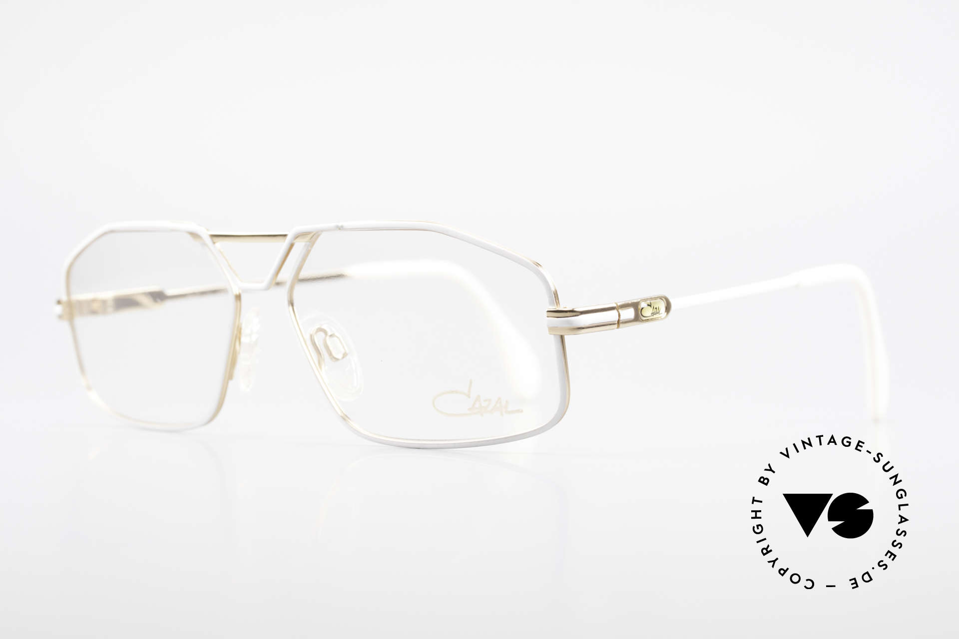 Cazal 729 Vintage Specs NO Retro Frame, it's the smaller version of the legendary CAZAL 735, Made for Men